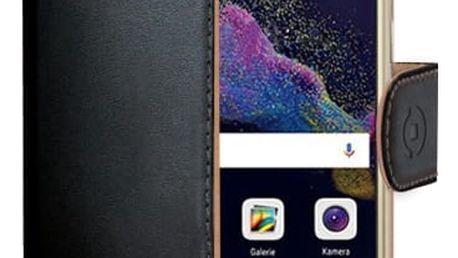 Pouzdro na mobil flipové Celly pro Huawei P9 Lite (2017) (WALLY642) černé