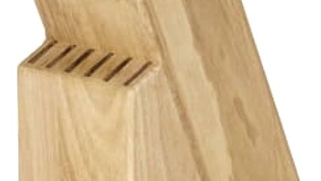 TESCOMA blok WOODY, pro 13 nožů a nůžky / ocílku