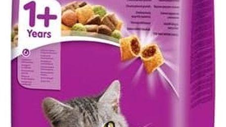Granule Whiskas Cat Adult hovězí 14 kg