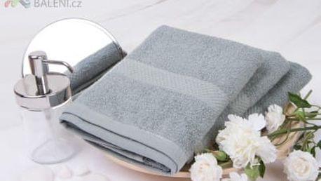 XPOSE ® Froté ručník VERONA - světle šedá 50x90 cm