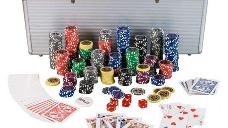 MAX 1212 Poker Set 500 laserových žetonů Ultimate