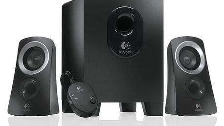 Reproduktory Logitech Z313 2.1 (980-000413) černá