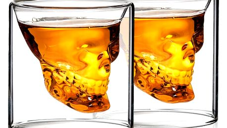 4Home Panáky Skull Hot&Cool 80 ml, 2 ks