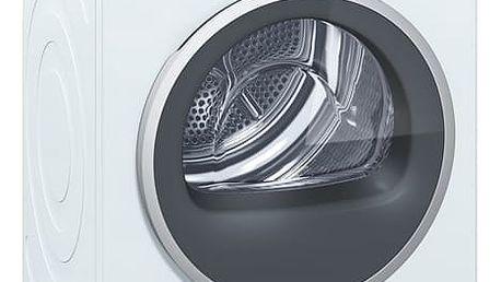 Sušička prádla Siemens WT48Y7W4 bílá + DOPRAVA ZDARMA
