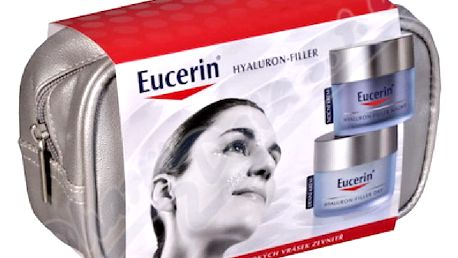 EUCERIN Hyaluron-Filler 1denní krém pro suchou pleť Eucerin Hyaluron-Filler + noční krém Eucerin Hyaluron-Filler 50 ml