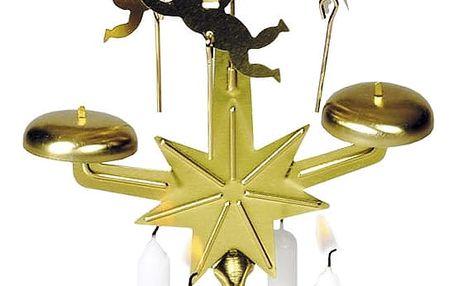 Andělské zvonění zlatá, 30 cm
