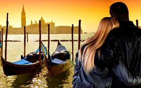 4denní zájezd pro 1 na Valentýna do Benátek a Verony