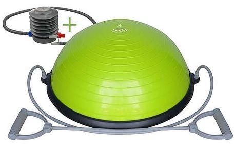 LIFEFIT Balanční podložka BALANCE BALL 58 cm + pumpa, zelená