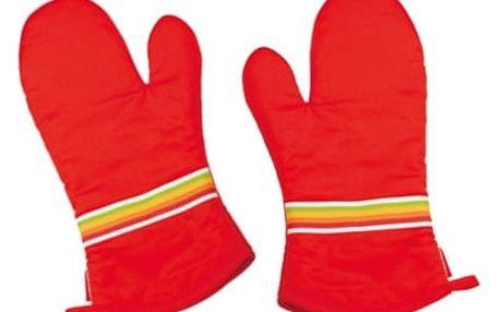 TESCOMA kuchyňské rukavice PRESTO TONE, pravá a levá, červená
