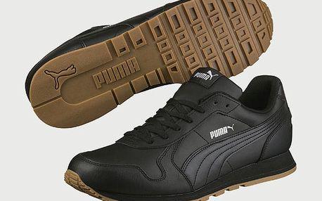 Boty Puma St Runner Full L Black- Black Černá