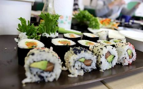 Zážitkový kurz přípravy sushi 25.2. dopoledne v Ostravě - nejběžnější druhy sushi