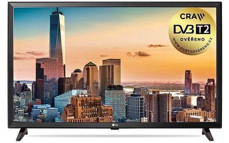 Televize LG 32LJ510U černá + DOPRAVA ZDARMA