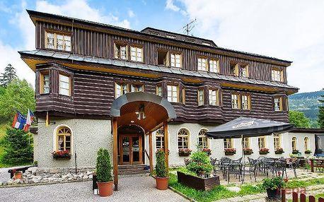 2–5denní wellness pobyt pro 2 s polopenzí v Alpském hotelu***+ ve Špindlerově Mlýně