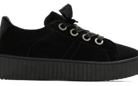 Dámské černé tenisky Riley 8285