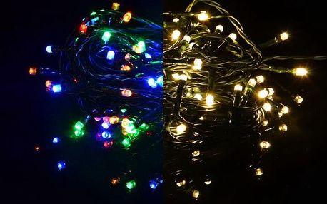 Nexos 39232 Vánoční světelný řetěz 400 LED - 9 blikajících funkcí - 39,9 m
