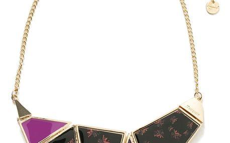 Desigual mohutný náhrdelník Bloomstar