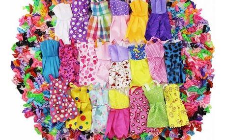 Mini šatičky a botičky pro panenky - 12 ks + 12 ks - dodání do 2 dnů