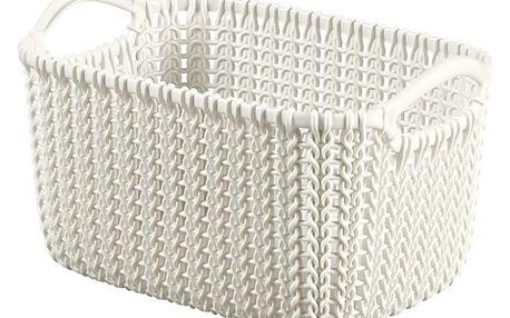 Košík KNIT XS 3L krémová 03675-X64