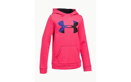 Mikina Under Armour Fleece Big Logo Hoody Růžová