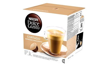 Kávová kapsle Nescafé Dolce Gusto Cortado 16 ks