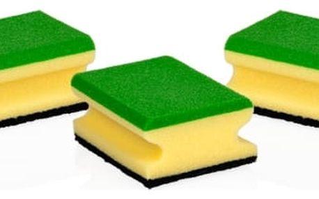 TESCOMA kuchyňské houbičky CLEAN KIT, 3 ks, multifunkční