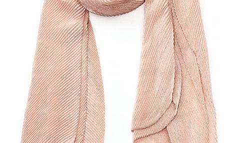 Dámský růžový šátek Susi 009