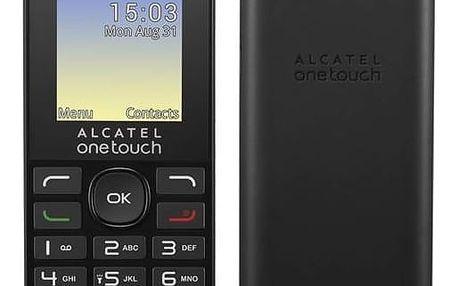 Alcatel One Touch 1016G, černá