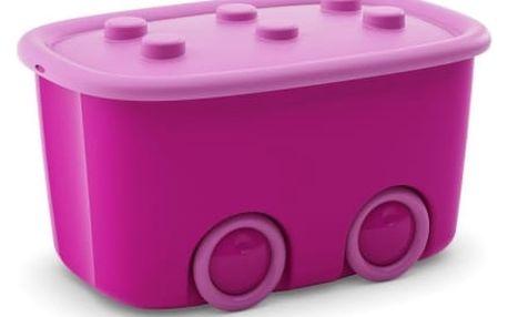 KIS Funny Box L - 46l světle fialový