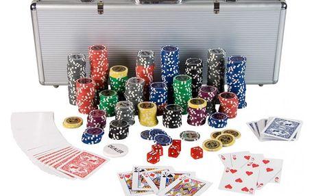 Tuin 1212 Poker Set - 500 laserových žetonů Ultimate
