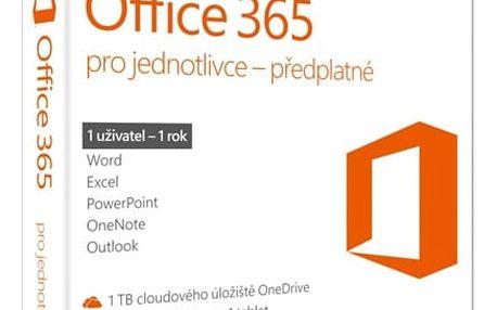 Software Microsoft pro jednotlivce CZ (QQ2-00602) + DOPRAVA ZDARMA