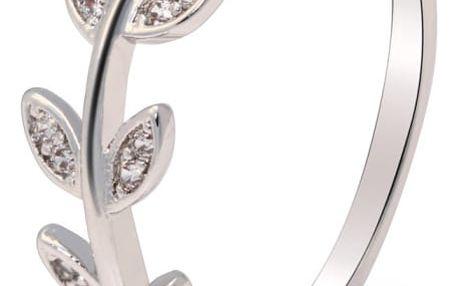 Prsten ve stříbrné barvě Erin 056 ( 16 mm)
