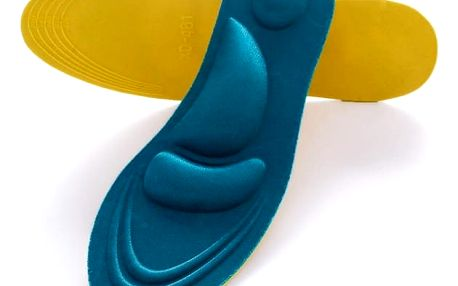 Měkké vložky do bot s polštářky - dodání do 2 dnů