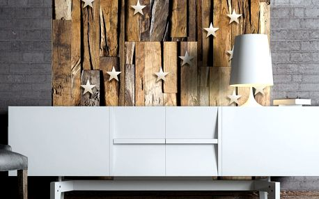 Bimago Tapeta - Wooden Constellation role 50x1000 cm