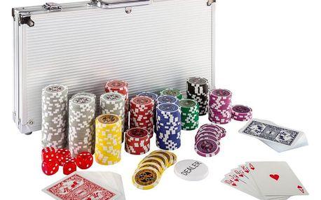 MAX 2642 Poker set 300ks žetonů 1 - 1000 design Ultimate