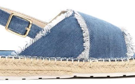 Dámské modré sandály Jess 6135