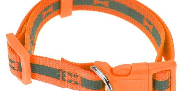 Obojek pro psa Neon oranžová, vel. S, S