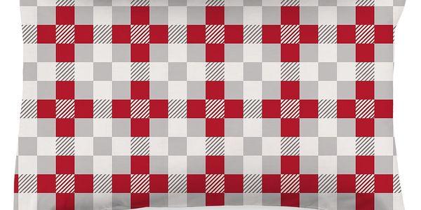 4Home Povlak na polštářek Checker, 50 x 70 cm