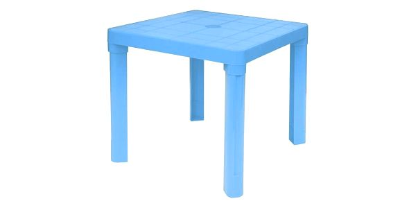 Plastový dětský stůl, modrá