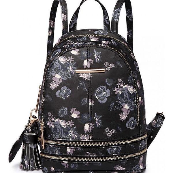 Dámský černý batoh Alize 1704