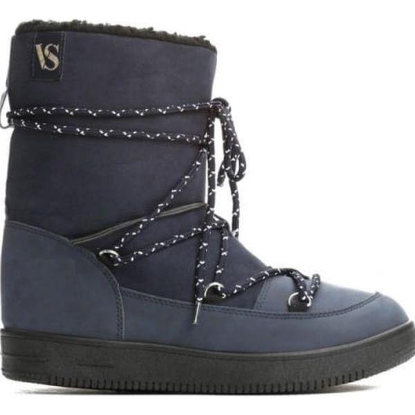 Dámské námořnicky modré sněhule Shelby 0067