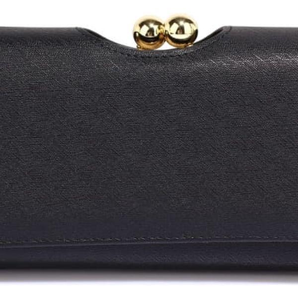 Dámská černá peněženka Cate 1070