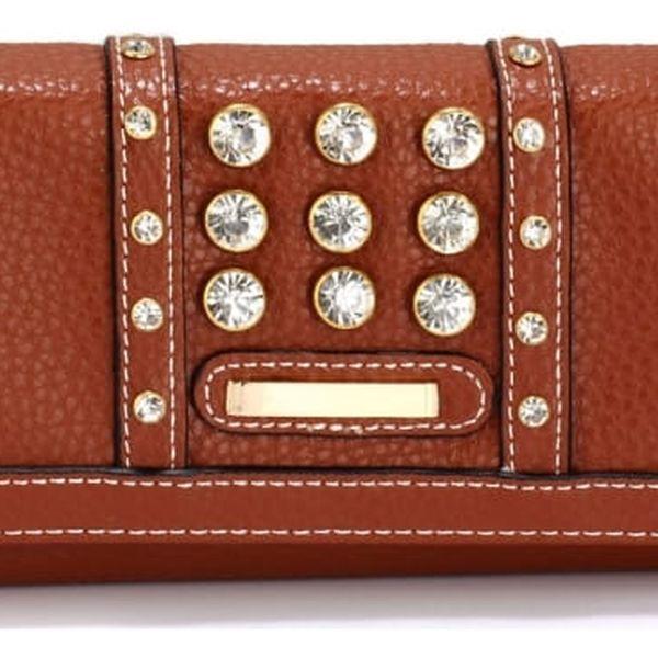 Dámská hnědá peněženka Ramonna 1041a