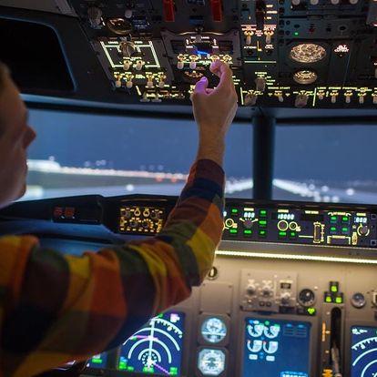 Trenažér řízení letadla Boeing 737 v Praze