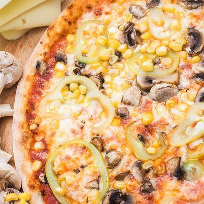 Libovolná pizza v Líšni: na výběr 15 druhů