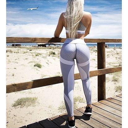 Elastické fitness legíny