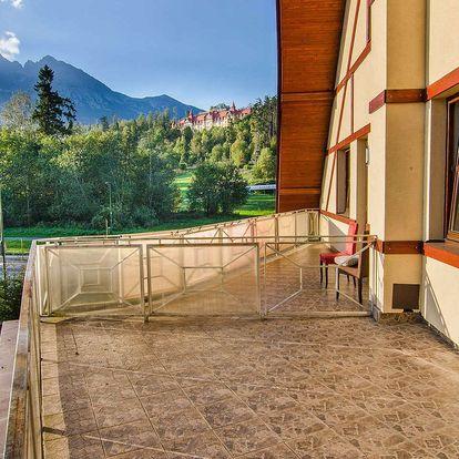 Jaro a léto v Tatrách s polopenzí a wellness v Hotelu Tulipán ***