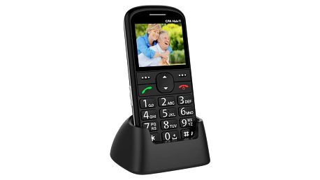 Mobilní telefon CPA Halo 11 (TELMY1011BK) černý