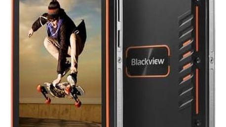 Mobilní telefon iGET BLACKVIEW GBV4000 (84000423 ) oranžový + Doprava zdarma