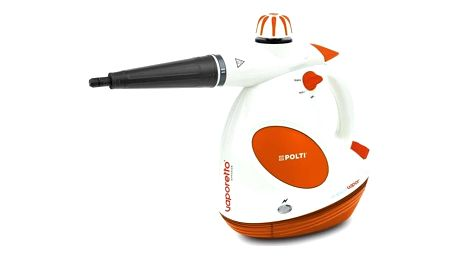 Parní čistič Polti VAPORETTO DIFFUSION s difuzorem vůně FRESCOVAPOR ruční bílý/oranžový + Doprava zdarma