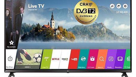 Televize LG 43UJ6307 černá + DOPRAVA ZDARMA
